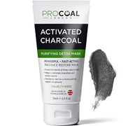 Face Mask, Purifying & Detoxifying Charcoal Face Mask 75ml by PROCOAL