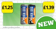 IRN-BRU ENERGY Cans Are Now in Scottish Londis Stores!