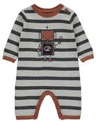 Grey Knitted Robot All In One Only £9