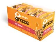 Best Price! Graze Honey & Oats Protein Bites 30g (Pack of 15)