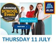 CHEAP SCHOOL UNIFORM at ALDI from £1.75