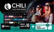 CHILI: £10 Credit plus One Odeon Cinema Ticket