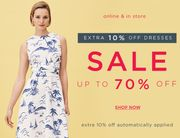 Hobbs - Sale Dresses Now Extra 10% OFF!