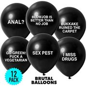 12 Pack Extreme Balloons for Fun