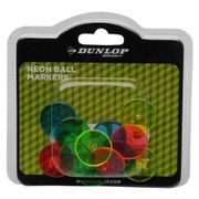 Dunlop Neon Golf Markers Pack of 12 at Amazon