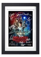 Stranger Things Signed Poster