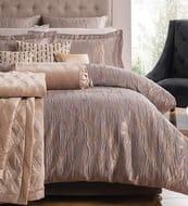 Dunelm Jaquard Grey Single Bed Set