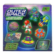 Outer Space Mould & Paint Fridge Magnet Set