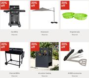 20% off ALL Garden Furniture, BBQs, Garden Toys & Pools at B&Q