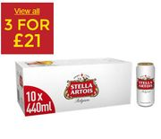 Beer & Cider - 3 Crates for £21 At Asda - Great For BBQ's