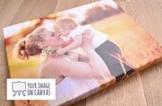 Free A3 Canvas Photo Print! (£7.99 Delivery)