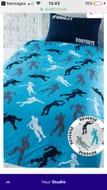 Fortnite Personalised Single Bed Duvet Cover