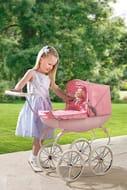 Pink Baby Royale Doll Pram