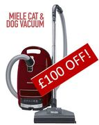 SAVE £100. Miele C3 CAT & DOG Vacuum Cleaner ***4.7 STARS***