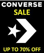 CONVERSE - up to 70% OFF