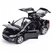 Scale Alloy Cars for Tesla Toy Model with Sound & Light