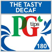 Pg Tips Decaffeinated 180 Teabags 522G