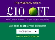 Coopers of Stortford - £10 off When Spend £40