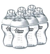 Tommee Tippee Closer to Nature Baby Feeding Bottle 260ml 6 Pack