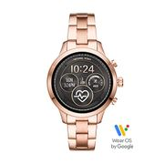 Michael Kors 10 Womens Smartwatch with Stainless Steel Strap.
