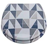 Geometric Slow Close Toilet Seat , Now 50%off@ Argos ( Free C&C )
