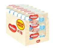 18 Packs of Huggies Baby Wipes plus £1.99 Postage