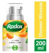 Radox Feel Bright Mango & Mandarin Shower Mousse 200ml