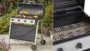 4-Burner Gas BBQ with Thermometer & Cover