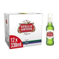(Pantry) Prime Only - Stella Artois Beer, 12 X 330 Ml