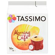 Prime Day Deal: Tassimo Morning Cafe Coffee Pods (Pack of 5, 80 Pods)