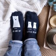 Personalised My Little Bear Socks