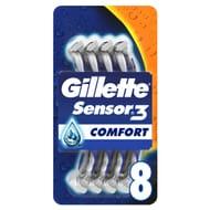 Gillette Sensor 3 Disposable Razors 8 Pack