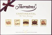 Thorntons Continental Chocolate Collection - MilkWhite and Dark 142 G