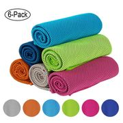 Cooling Towel 6 Pack 100 X 30cm Only £4.99