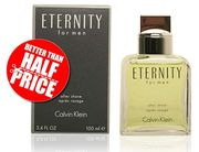 Prime Day Deal: Calvin Klein Eternity for Men Aftershave, 100 Ml