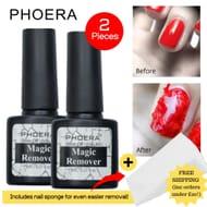 Phoera Gel Nail Polish Remover (2 Pack)