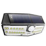 LITOM 30 LED Solar Lights Outdoor with Wireless Solar Motion Sensor Lights@£7.49