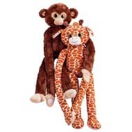 Chad Valley 110cm Monkey and Giraffe - Assortment