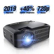 Abox Mini Projector with Native 1280*720p Full HD - Lightning Deal