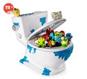 Flush Force Collect-a-Bowl Stash N Store Case for 4 Exclusive Flushie Figures