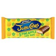 Mcvitie's Jaffa Pineapple Cake Bars 5 Pack