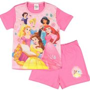 DISNEY Pink Princess Pyjama Set Only £5.99