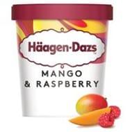 Haagen Dazs Mango Raspberry Ice Cream (2 for 1)