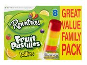 Rowntrees Fruit Pastilles Lollies 50%off at Iceland