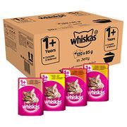 SAVE £11. Whiskas 1+ Casserole, Poultry Selection in Jelly, 120. PRIME DAY DEAL