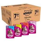 SAVE £11. Whiskas 7+ Senior Cat Food, Poultry Selection (120) PRIME DAY DEAL