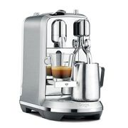 Nespresso Creatista plus by Sage, Brushed Stainless Steel Lightning Deal
