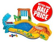 PRIME DAY DEAL - Intex Dinosaur Play Centre / Paddling Pool