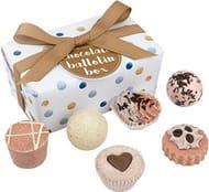 Bomb Cosmetics Chocolate Handmade Bath Melts Gift Pack