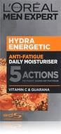 Prime Day - L'Oreal Men Expert Hydra Energetic, Anti-Fatigue Moisturiser 50 Ml